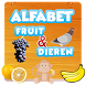 Alphabet learning with animals and fruits