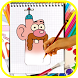 How to draw : Uncle Grandpa cartoon network by Drawing Apps For Kids