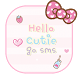 Hello Cutie GO SMS by camilcdx