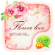 (FREE) GO SMS FLOWER LOVE THEME by ZT.art