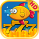 Yellow Fish Slot Machine by Gexmob