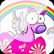 unicorn evolution car dash by jeffy games