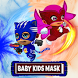 Kids Masks Heroes by Lolidroid