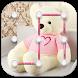 Teddy Bear Pattern Lock Screen 2017 by AraienApps