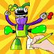 iRobot Pixels Coloring Kids by Mix Pixels Coloring