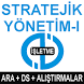 AÖF STRATEJİK YÖNETİM-I by AÖF KURSLARI