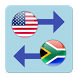 US Dollar x South African Rand by Currency Converter X Apps