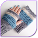 Crochet Fingerless Gloves by BearLTD