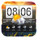 Flip Clock & Weather Widget by