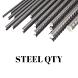 Steel Qty by Wappnet Systems