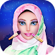 Hijab Dress-Up Doll & Makeup Saloon