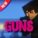 Guns mod for Minecraft by Nuleomkum Jumtpeolat