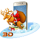 Merry Christmas Santa 3D Theme by 3D Theme World