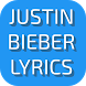 Lyrics of Justin Beiber by AppDivine