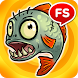 Fish Zombie Survival & Hungry fish with wars