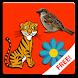 Animals Flowers Birds by Tontoon Infotech