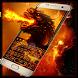 Fire Dragon Keyboard Theme by Super Keyboard Theme