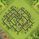 Town Hall 9 Trophy Base Layout by JodiStudio