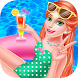 Summer Pool Party Beauty Salon by Makeover Mania