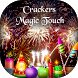 Diwali Crackers Magic Touch - Diwali Fireworks by Silver Stone Studio