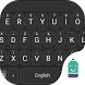 Outer Space Black Emoji Theme by Best Keyboard Theme Design