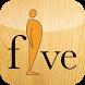 Die five App für unsere Kunden by Lupuss Media