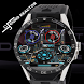 Dj Sound Reactor Watchface by KV Design