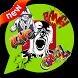 HIP-HOP Emoticons & Sticker by KAWAII