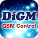 DiGM GSM control by FDP Software