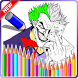 Coloring Joker by coloring-games