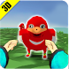 Ugandan Knuckles Art by Gurue Games Inc.