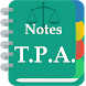 Transfer of Property Act Notes by Chamber of Advocates