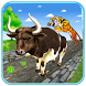 Angry Bull Run: Farm Animal Escape Subway Rush by RedC Game Studio