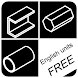 Metal Calculator English units by SD