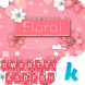 Keyboard - Floral New Theme by Kika Theme Lab