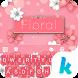 Keyboard - Floral New Theme by Kika Theme Lab