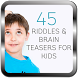 45 riddles and Brain Teasers by amanahstudio