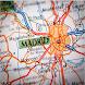 Mapa del metro Madrid