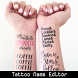 Tattoo Editor With My Name