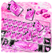 Pinky Crystal Keyboard Theme