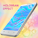 3D Pink Hologram Theme by Keyboard and HD Live Wallpapers