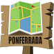 Ponferrada Map by Mappopolis