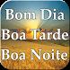Bom Dia Boa Tarde Boa Noite e Semanal by devdocesonho