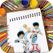 Learn To Play Coloring Captain Tsubasa by Thanuid Art