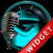 Poweramp Widget Lightblue Droi by Maystarwerk Skins & Widgets Vol.2