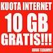 GRATIS KUOTA 10 GB by Brinki Digital