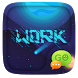 (FREE) GO SMS PRO WORK THEME by ZT.art