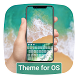 Keyboard Theme for OS by HD wallpaper launcher tema