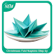 Christmass Fold Napkins Step by Step by ILogic