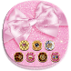 Pink Shining Cute Bow Theme by Cool Wallpaper